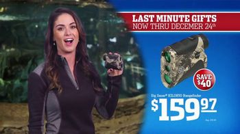 Bass Pro Shops Christmas Sale TV Spot, 'Last-Minute: Boots and Rangefinder' - Thumbnail 9