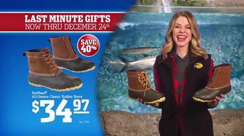 Bass Pro Shops Christmas Sale TV Spot, 'Last-Minute: Boots and Rangefinder' - Thumbnail 4