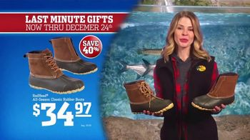 Bass Pro Shops Christmas Sale TV Spot, 'Last-Minute: Boots and Rangefinder' - Thumbnail 5