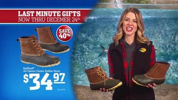 Bass Pro Shops Christmas Sale TV Spot, 'Last-Minute: Boots and Rangefinder' - Thumbnail 6