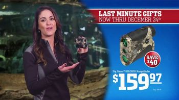 Bass Pro Shops Christmas Sale TV Spot, 'Last-Minute: Boots and Rangefinder' - Thumbnail 7