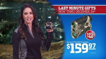 Bass Pro Shops Christmas Sale TV Spot, 'Last-Minute: Boots and Rangefinder' - Thumbnail 8