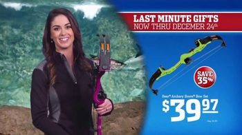 Bass Pro Shops Christmas Sale TV Spot, 'Knife Sets and Toy Crossbows' - 39 commercial airings