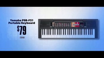 Guitar Center TV Spot, 'Portable Keyboard and Lessons' - Thumbnail 6