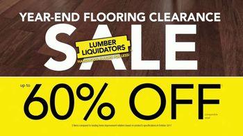 Lumber Liquidators Year-End Flooring Clearance Sale TV Spot, 'Lowest Price' - Thumbnail 2