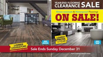 Lumber Liquidators Year-End Flooring Clearance Sale TV Spot, 'Lowest Price' - Thumbnail 3