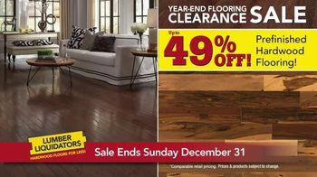 Lumber Liquidators Year-End Flooring Clearance Sale TV Spot, 'Lowest Price' - Thumbnail 4