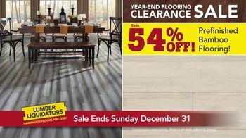 Lumber Liquidators Year-End Flooring Clearance Sale TV Spot, 'Lowest Price' - Thumbnail 5