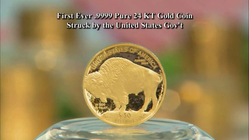 National Collector's Mint 2018 Gold Buffalo Tribute Proof TV Commercial, 'Purity'
