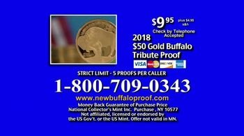 National Collector's Mint 2018 Gold Buffalo Tribute Proof TV Spot, 'Purity' - Thumbnail 10
