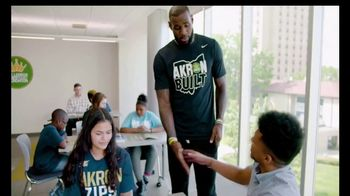 The University of Akron TV Spot, 'See What It Takes' Feat. LeBron James - Thumbnail 6