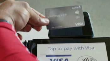 Capital One Quicksilver VISA TV Spot, 'Tap to Pay' Feat. Larry Fitzgerald - Thumbnail 5