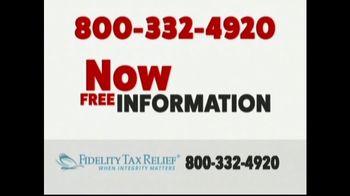Fidelity Tax Relief IRS Fresh Start Program TV Spot, 'No Payments' - Thumbnail 2