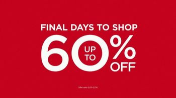JCPenney Holiday Challenge TV Spot, 'Final Days' Song by Sia - Thumbnail 3