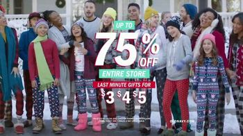 Old Navy TV Spot, 'Jingle Jammies Jam: 75 Percent Off'