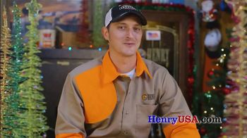 Henry Repeating Arms TV Spot, 'Christmas Travel Tip from 22Plinkster' - Thumbnail 4
