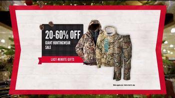 Cabela's Christmas Sale TV Spot, 'Last Minute Gifts: Huntingwear' - Thumbnail 5