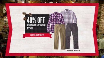 Cabela's Christmas Sale TV Spot, 'Last Minute Gifts: Huntingwear' - Thumbnail 6