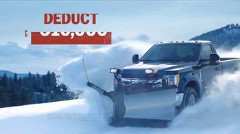Ford Year End Sales Event TV Spot, 'Snow Day' [T2] - Thumbnail 6