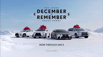 Lexus December to Remember Sales Event TV Spot, 'Stunned: 2018 NX 300 AWD' [T2] - Thumbnail 4