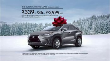 Lexus December to Remember Sales Event TV Spot, 'Stunned: 2018 NX 300 AWD' [T2] - Thumbnail 5
