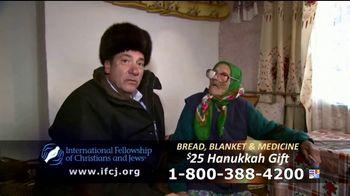International Fellowship Of Christians and Jews TV Spot, 'Hanukkah Help' - Thumbnail 5
