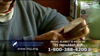 International Fellowship Of Christians and Jews TV Spot, 'Hanukkah Help' - Thumbnail 9