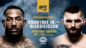 UFC 219 TV Spot, 'Roundtree Jr. vs. Oleksiejczuk' [Spanish] - Thumbnail 8