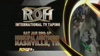 ROH Wrestling TV Spot, '2018 International TV Tapings' - Thumbnail 1