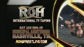 ROH Wrestling TV Spot, '2018 International TV Tapings' - Thumbnail 2