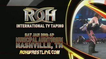 ROH Wrestling TV Spot, '2018 International TV Tapings' - Thumbnail 3