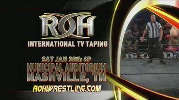 ROH Wrestling TV Spot, '2018 International TV Tapings' - Thumbnail 4