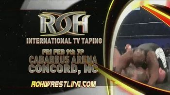 ROH Wrestling TV Spot, '2018 International TV Tapings' - Thumbnail 5