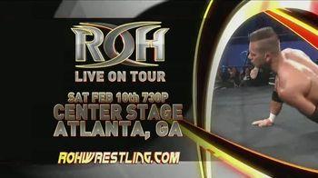 ROH Wrestling TV Spot, '2018 International TV Tapings'