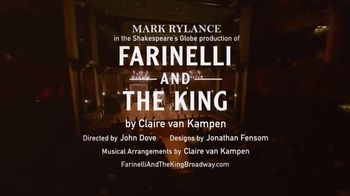 Farinelli and the King TV Spot, '2017 Broadway' - Thumbnail 9