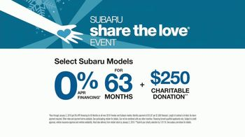 Subaru Share the Love Event TV Spot, 'Donating to Those in Need' [T1] - Thumbnail 7