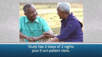 Covance Clinical Trials TV Spot, 'Study 446: Seniors: 2 Nights' - Thumbnail 2