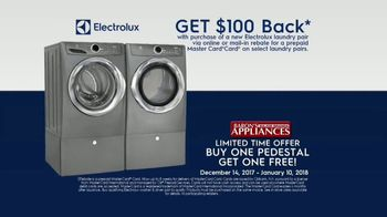 Electrolux SmartBoost Washer TV Spot, 'Secret to Looking Flawless: $100 Back & BOGO' - Thumbnail 8