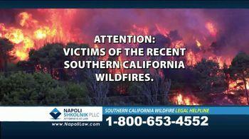 Napoli Shkolnik PLLC TV Spot, 'Southern California Wildfire' - Thumbnail 1