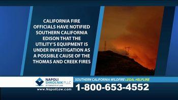 Napoli Shkolnik PLLC TV Spot, 'Southern California Wildfire' - Thumbnail 3