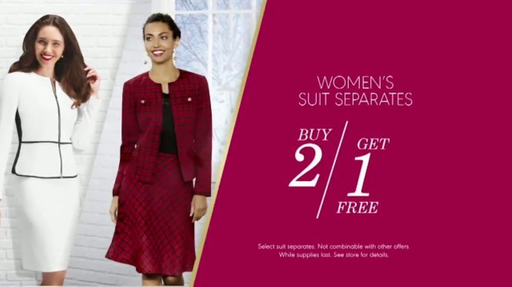 K&G Fashion Superstore The Holiday Event TV Commercial, 'Women's Suits and Boots'