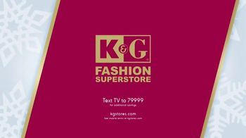 K&G Fashion Superstore The Holiday Event TV Spot, 'Women's Suits and Boots' - Thumbnail 10