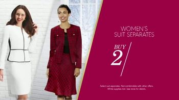 K&G Fashion Superstore The Holiday Event TV Spot, 'Women's Suits and Boots' - Thumbnail 4