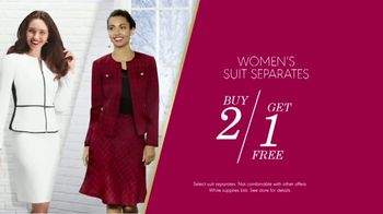 K&G Fashion Superstore The Holiday Event TV Spot, 'Women's Suits and Boots' - Thumbnail 5