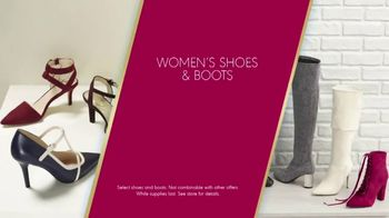 K&G Fashion Superstore The Holiday Event TV Spot, 'Women's Suits and Boots' - Thumbnail 6