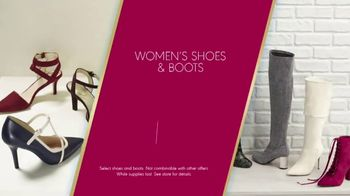 K&G Fashion Superstore The Holiday Event TV Spot, 'Women's Suits and Boots' - Thumbnail 7