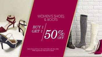 K&G Fashion Superstore The Holiday Event TV Spot, 'Women's Suits and Boots' - Thumbnail 8