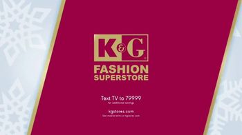 K&G Fashion Superstore The Holiday Event TV Spot, 'Women's Suits and Boots' - Thumbnail 9