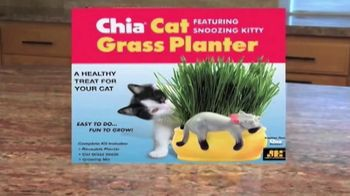 Chia Cat Grass Planter TV Spot, 'Perfect Gift for Cat Lovers' - Thumbnail 2