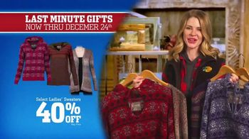 Bass Pro Shops Christmas Sale TV Spot, 'Sweaters, Game Camera & Fishfinder' - Thumbnail 4